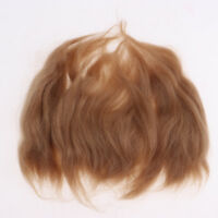 100% Pure Mohair Hair Straight Wig for Reborn Doll Baby Doll Supplies DIY