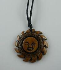 Anhänger  Sonne  Bone Carving  tribal