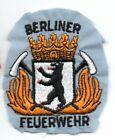 BERLIN Germany Berliner Feuerwehr FIRE Off Shirt Patch
