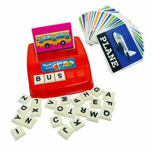 Early Learning Educational Toy English Spelling Alphabet Letter Game Gift
