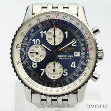 Breitling Old Navitimer Blue Dial With Papers Ref. A13322