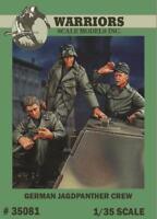 Warriors 1:35 German Jagdpanther Crew - 3 Resin Figures Kit #35081