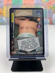 SHIPS SAME DAY The X-Files Card LP/NM Alien DNA Steroid Program Premiere 1996