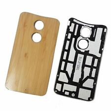 Original Battery Back Cover For Motorola X (2nd Gen) - Bamboo
