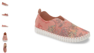 Ilse Jacobsen Tulip 139 Coral Blush Slip-on Sneaker Women's EU sizes 36-41 NEW!!