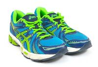 ASICS GEL-EXALT Mens Sz 7.5 Running Jogging Shoes Blue Green Navy Blue T329Q