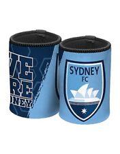 Sydney FC A-League Football Soccer Team Logo Can Cooler Stubby Holder