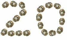 LAND ROVER DISCOVERY 2 TD5  STAINLESS CAPPED ALLOY WHEEL NUTS SET X 20  ANR3679