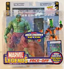 Toybiz Marvel Legends Face-Off Hulk vs Leader, Variant Set