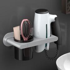 Wall Rack Hair Dryer Straightener Holder Shelf Bathroom Salon Storage Organizer