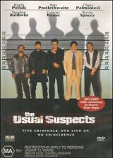 the Usual Suspects (Kevin SPACEY & POLLAK Gabriel BYRNE Chazz PALMINTERI) DVD R4