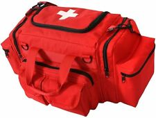 Red Tactical EMT First Aid Emergency Medical Kit Carry Bag Camping 2659 #2