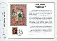 FEUILLET CEF / DOCUMENT PHILATELIQUE / ART DU CIRQUE 1993 CHALONS SUR MARNE