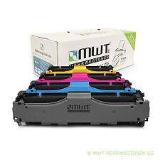4x MWT XXL Toner für HP LaserJet CP2025 DN N CM2320FXI CM2320 N NF statt 304A