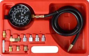 Wave Box Oil Pressure Tester Meter Gauge Test Kit Petrol Diesel Garage