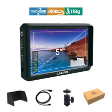 Lilliput A5 5-inch 1920x1200 DSLR Mirrorless Camera Field Monitor 4K HDMI input