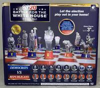 Presidential Election Battle For The White House Chess Set New 2020 Trump Biden