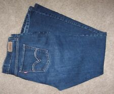 LEVIS Levi's 515 boot cut 12M 12 STRETCH blue jeans with embellishments NICE!