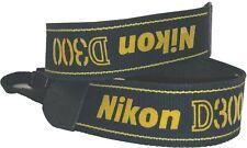 Nikon Black/Yellow D300 Digital Camera Shoulder Strap AN-D300 FREE SHIPPING