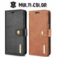 Leather Removable Wallet Magnetic Flip Card Case Cover for iPhone & Samsung-Man