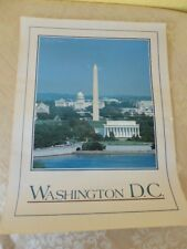 Washington DC Travel Poster series. Impact 1983. 24x18in