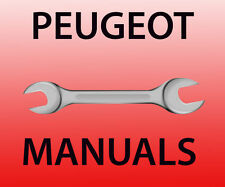 Peugeot workshop manual all models