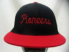 PIONEERS - 4 - LIDS BRAND - 6 7/8 - 7 1/4 SIZE STRETCH FIT BALL CAP HAT!