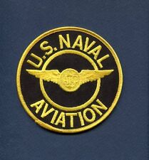 """US NAVAL AVIATION AIRCREW NAVY Wing 4"""" Squadron Jacket Patch"""