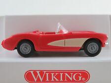 Wiking 81902 Chevrolet Corvette C1 Convert.(1956) in pink/creme 1:87/H0 NEU/OVP