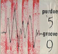 1959 PURDUE UNIVERSITY GROOVE Yearbook LP RECORD
