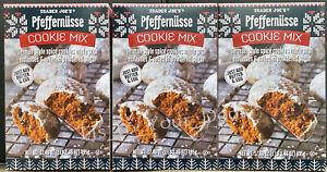 Trader Joe's German Pfeffernüsse Cookie Mix ~ Molasses & Spices 1,2, 3, or 4 Box