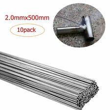 10PCS 2.0mm*500mm Easy Aluminum Solder Melt Welding Flux Cored Rods Wire Brazing