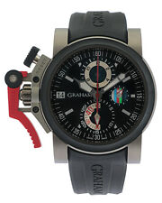 Graham Chronofighter Oversize Referee Titanium Automatic Men's Watch 2OVKK.B36A