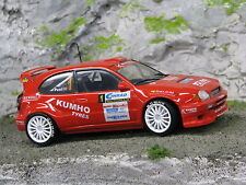 QSP Toyota Corolla WRC 1998 1:24 #1 Wevers / Poel Conrad Euregio Rally 2005