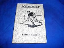 ice hockey book 1931 alexander sayles gerard hallock 3 how to play understand