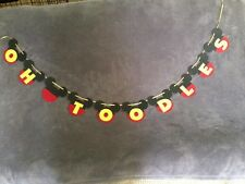 "Mickey Mouse ""OH TOODLES"" Banner.Great For Birthday Parties"