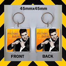 MICHAEL BUBLE TO BE LOVED -CD COVER KEYRING -CD9876