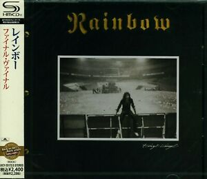RAINBOW FINYL VINYL JAPAN 2012 SHM RMST 2CD+2  BRAND NEW/SEALED - OUT OF PRINT!