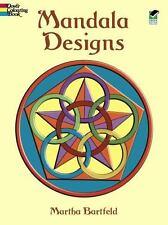 Dover Publications Book, Mandala Designs Dover Design Coloring Books