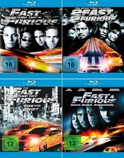 The Fast and the Furious 1 - 4 Collection (Paul Walker)          | Blu-ray | 053