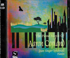 JOAN SINGER SPICKNALL - PIANO MUSIC..AARON COPLAND- (2) CD SET - EROICA - SEALED