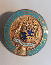 Cambridgeshire County Bowling Association Pin Badge by Miller