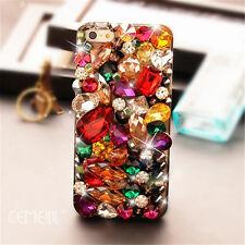 Glitter Luxury Crystal Bling Rhinestone Diamonds Soft TPU Gel Case Cover BO-1