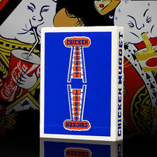 Chicken Nugget Deck - Blue - Playing Cards - Magic Tricks - New