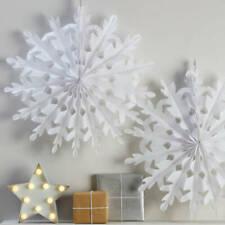 Decorazioni bianchi in tessuto per albero di Natale