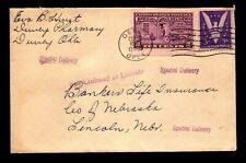US 1942 Special Delivery Cover  - L7073