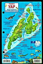 ⫸ Franco YAP Reef Creatures Laminated Fish Identification Dive Map Guide ""
