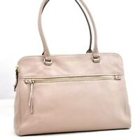Authentic Kate Spade Shoulder Bag Leather Pink 94987