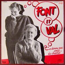 Font et Val 33 tours Ça donne envie de chanter