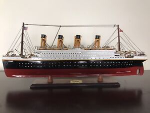 Titanic Model Ship